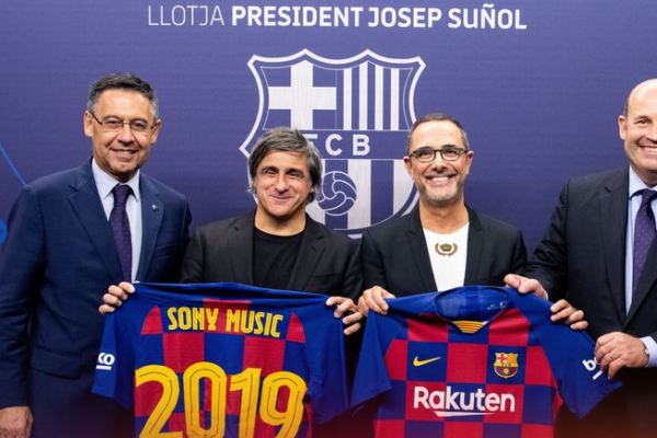 FC Barcelona forges a strategic alliance with Sony Music