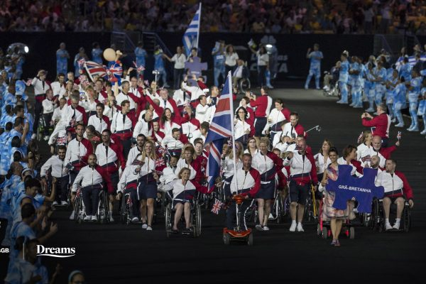 ParalympicsGB signs partnership with Dreams