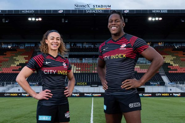 Saracens announces deals with StoneX and City Index