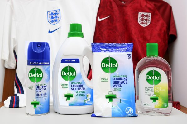 The FA and Dettol team up for good hygiene
