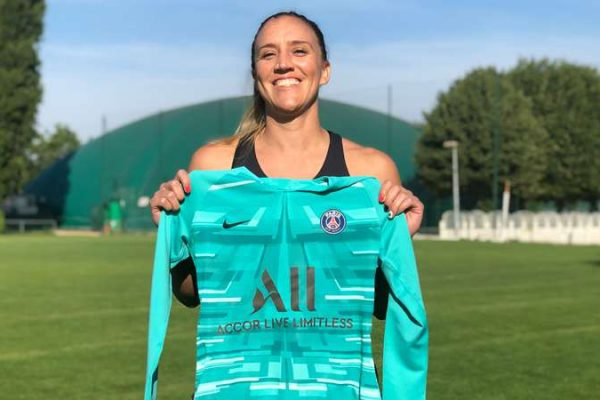 Paris Saint-Germain footballer Arianna Criscione on women's football sponsorship and equal pay
