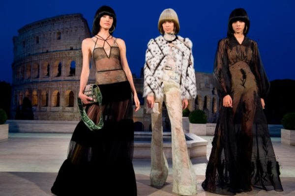 Fendi Couture 2019: The Dawn Of Romanity