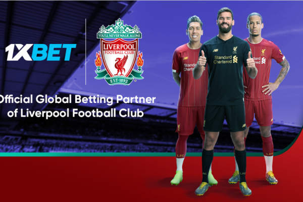 Liverpool FC to bet with 1XBET
