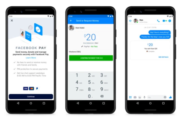 Facebook unveils Facebook Pay for consistent payment experience
