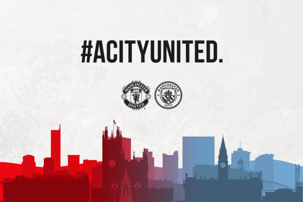 Man City & United come together to donate £100,000 to local food banks
