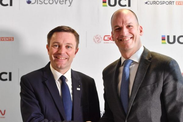 UCI partners Discovery to promote UCI Track Cycling World League
