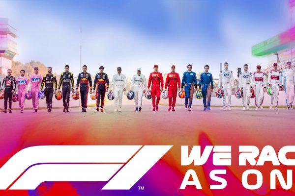 Formula 1 announces #WeRaceAsOne initiative
