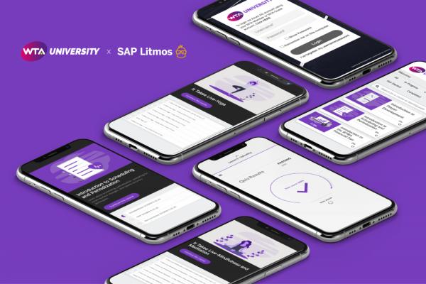 WTA partners SAP to launch an educational platform