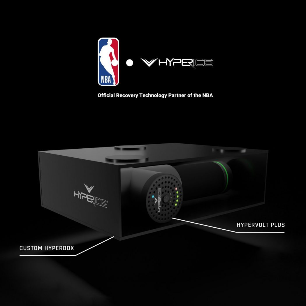 NBA names Hyperice as official recovery technology partner