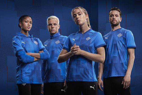 Iceland unveils national football team's crest with a dramatic film