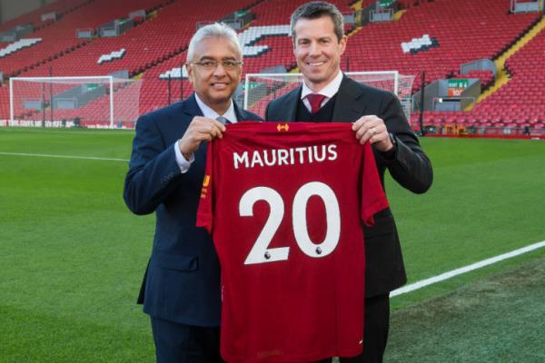Liverpool FC names Mauritius as tourism and economic development partner