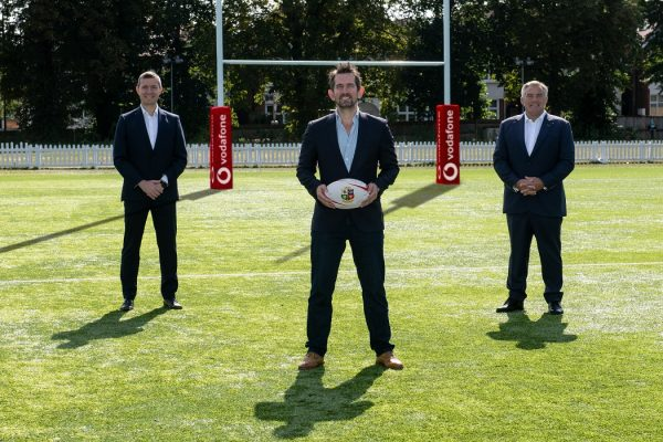 British & Irish Lions names Vodafone as lead partner for the South African 2021 tour