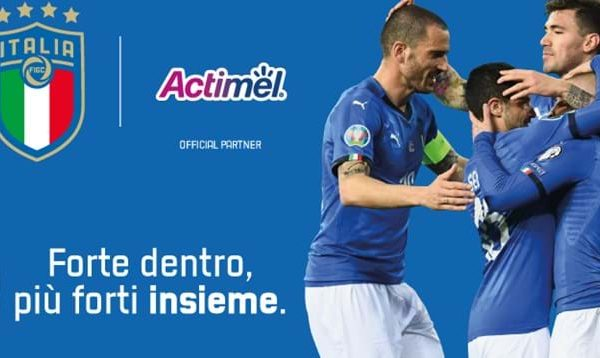 Italian National Team signs Danone as official partner until 2022