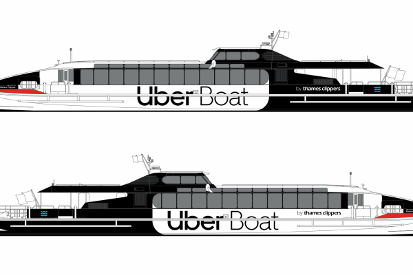 Uber unveils boat service in partnership with Thames Clippers