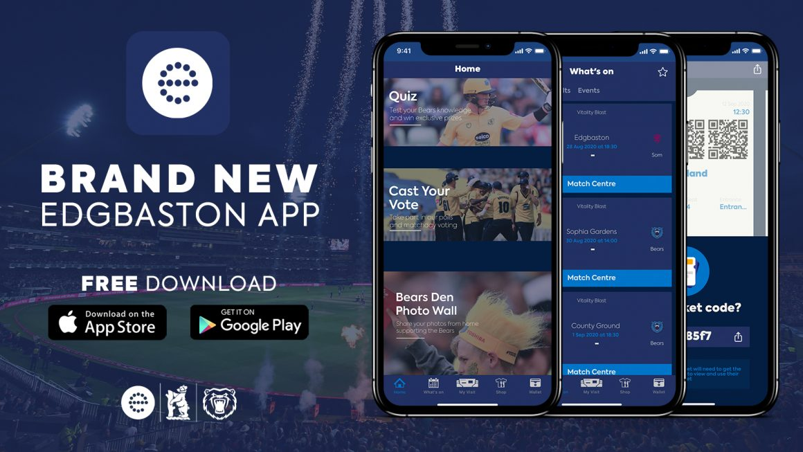 Bears launch new Edgbaston app ahead of Blast campaign