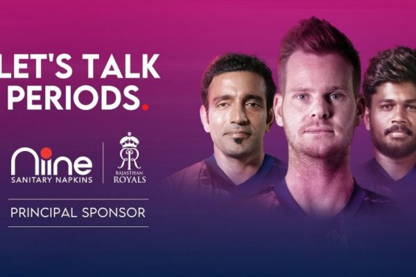 Rajasthan Royals partners sanitary napkin brand Niine to eliminate taboos about menstruation