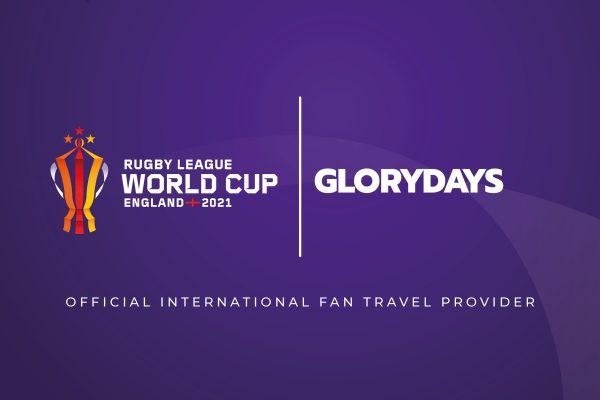 RLWC2021 signs Glory Days as international fan travel provider