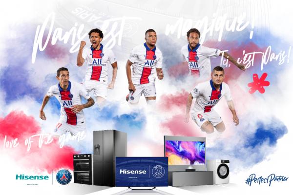 Paris Saint-Germain strikes global partnership with Hisense