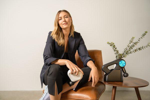 Maria Sharapova invests in tech wellness brand Therabody