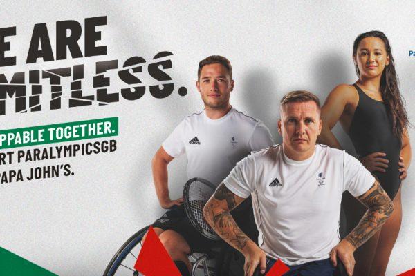 Paralympics GB partners Papa John's ahead of Tokyo 2020