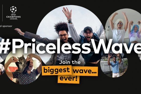 Mastercard unveils #PricelessWave campaign with the aim to elevate fan experience