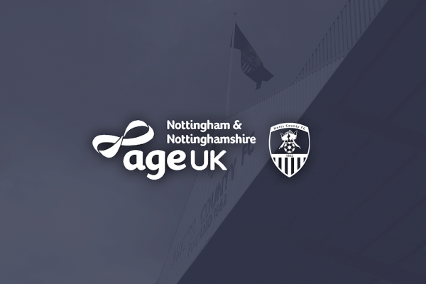 Notts County FC signs Age UK Notts as its official charity partner