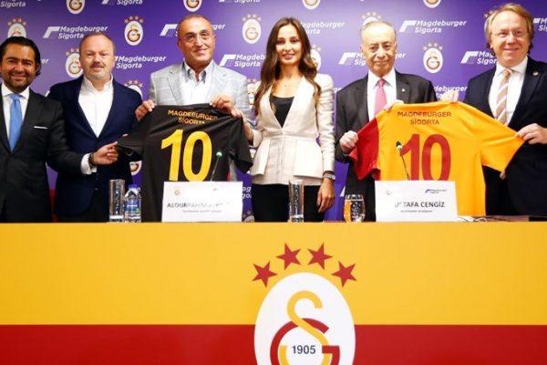 Galatasaray strikes sponsorship deal with Magdeburger Sigorta