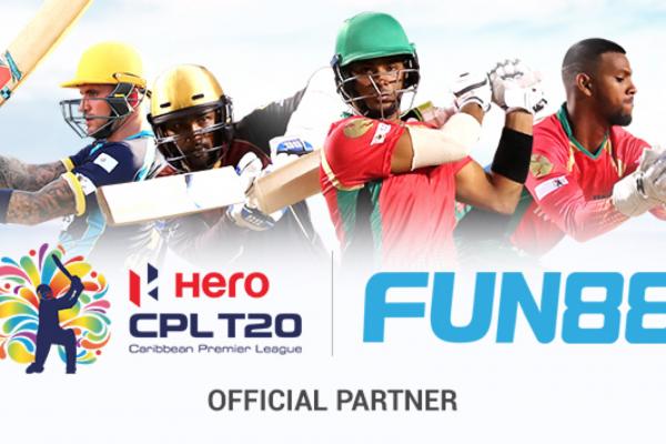 Caribbean Premier League 2020 signs Fun88 as official partner