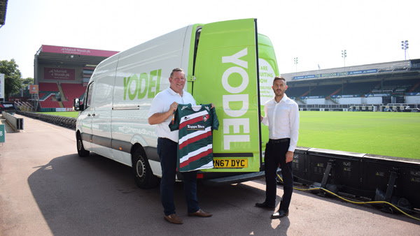 Leicester Tigers signs Yodel as official delivery partner