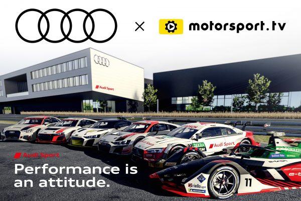 Audi Sport unveils OTT channel with Motorsport.tv