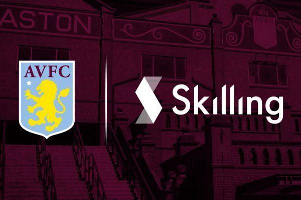 Aston Villa names Skilling as new club partner