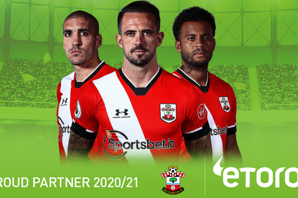 Southampton FC renews partnership with eToro