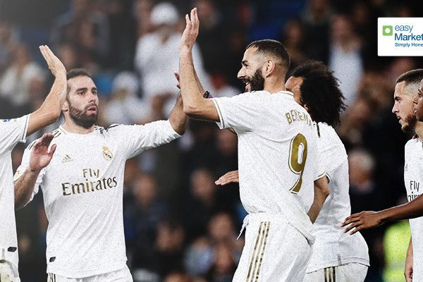 Real Madrid signs easyMarkets as online trading partner in a three-year deal
