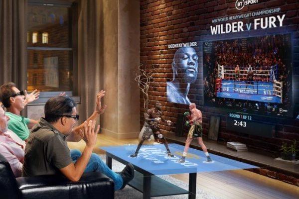 BT Sport collaborates with Condense Reality to stream hologram-style 3D videos