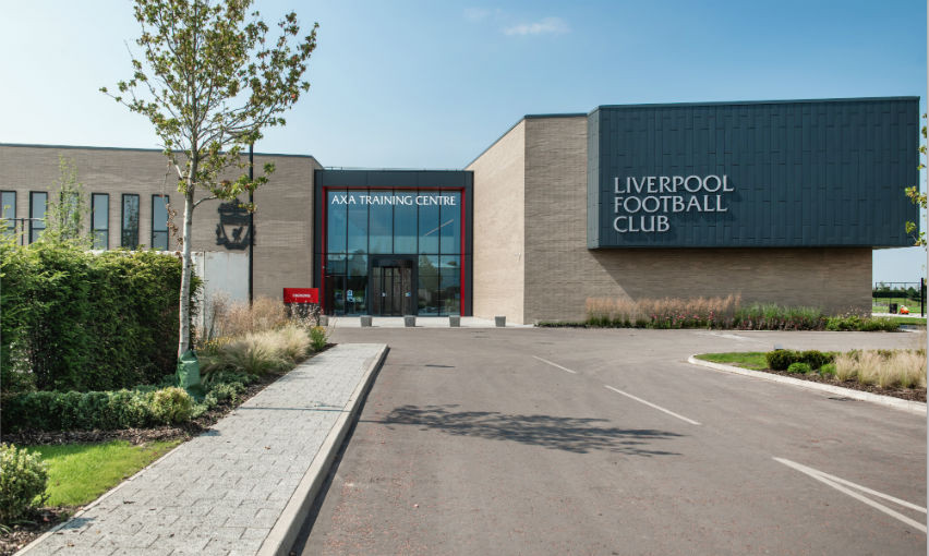 Liverpool FC hands over the training centre's naming rights to AXA