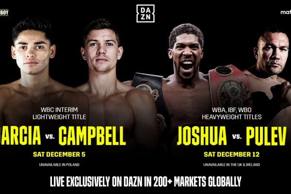 DAZN to expand globally in December