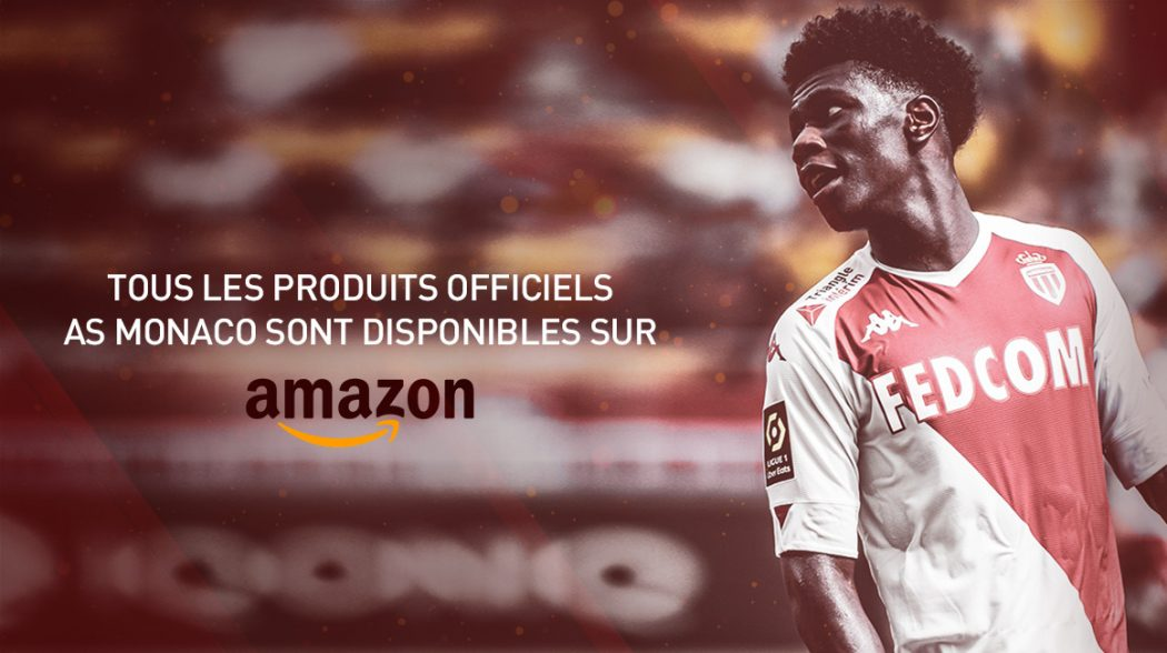 AS Monaco launches an online store on Amazon