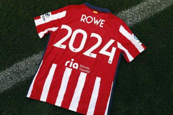 Atlético de Madrid names ROWE as official partner until 2024