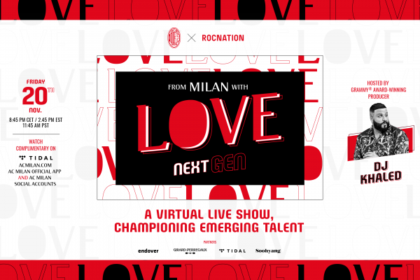 AC Milan and Roc Nation partners to create a virtual live event