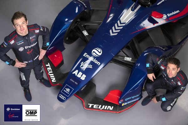 Envision Virgin Racing inks multi-year deal with OMP