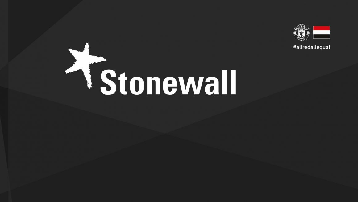 Manchester United signs strategic partnership with Stonewall to promote LGBT+ inclusion
