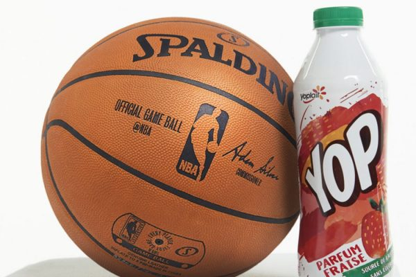 NBA signs Yoplait as official partner in France