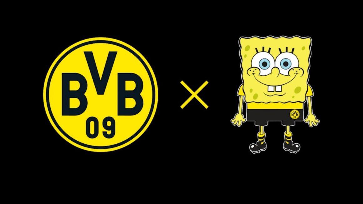 Borussia Dortmund partners Spongebob Squarepants for a capsule collection