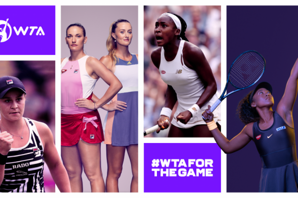 The WTA rebrands itself to create deeper fan connections