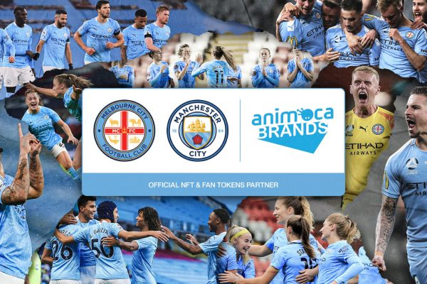 Manchester City and Melbourne City FC to develop new games & collectibles with Animoca