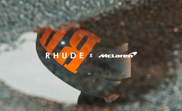 McLaren collaborates with luxury fashion brand Rhude