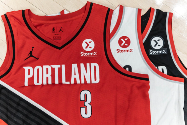 Portland Trail Blazers signs multi-year jersey patch deal with StormX