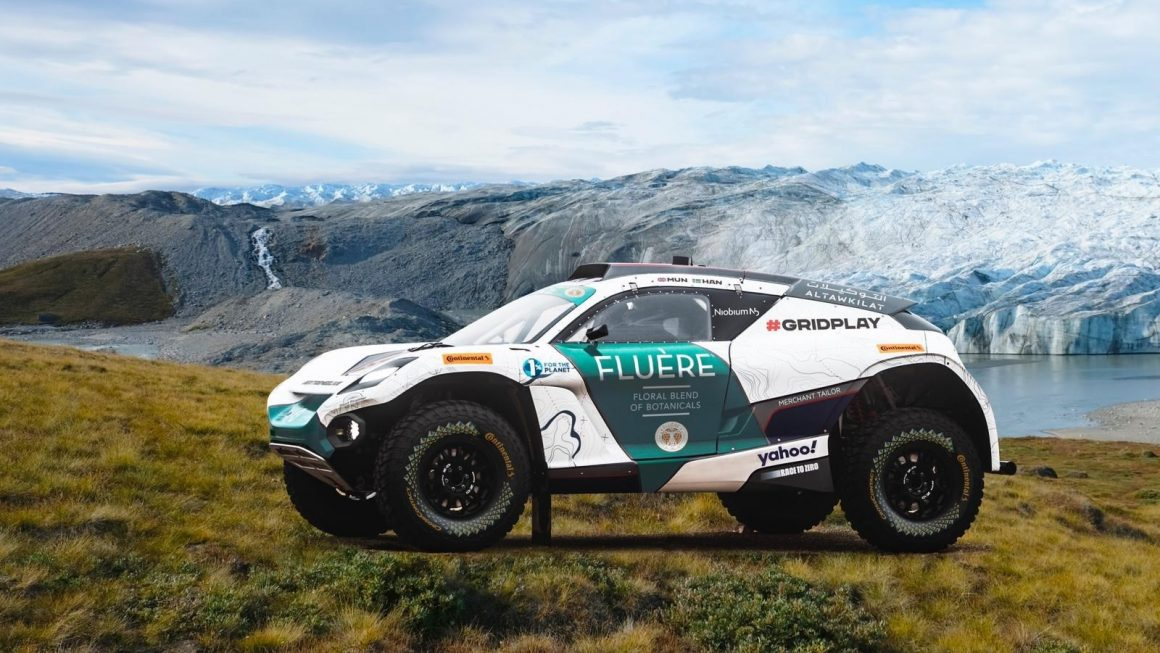 FLUÈRE to raise awareness about climate change at Extreme E Championship