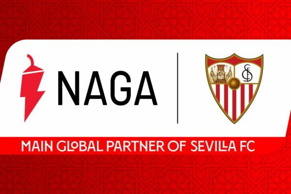 Sevilla FC signs NAGA as global trading partner