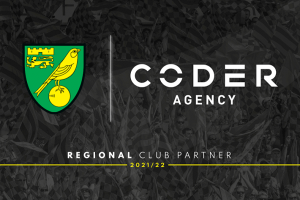 Norwich City FC signs regional deal with Coder Agency